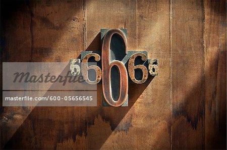 Letterpress 6's