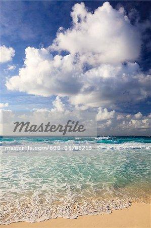 Waves at Grand Anse, La Digue, Seychelles