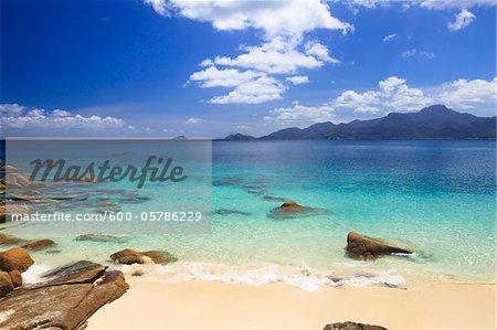 Beach at Anse Soleil, Mahe, Seychelles