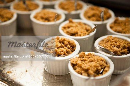 Apple Crisps at Wedding