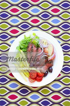 Beef Nicoise Salad