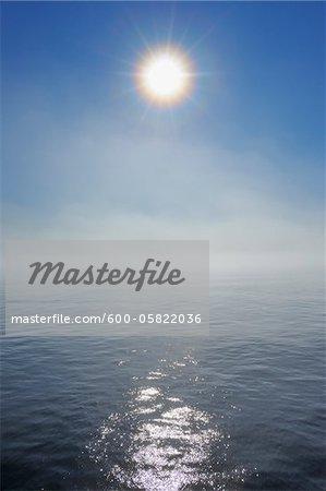 Sun and Ocean, Greenland Sea, Arctic Ocean, Arctic