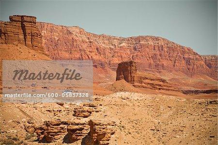 Vermillion Cliffs, near Five Mile Point, Arizona, USA