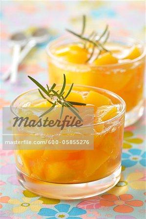 Peaches in Cups