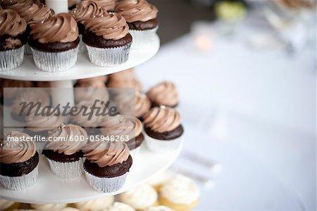 Cupcakes at Wedding, Toronto, Ontario, Canada