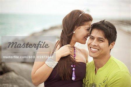 Couple at the Beach, Jupiter, Palm Beach County, Florida, USA