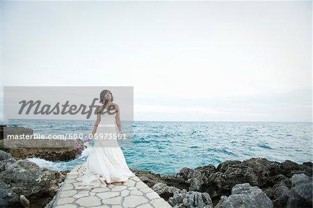 Bride, Negril, Jamaica