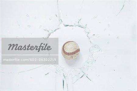 Baseball and Broken Glass