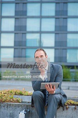 Businessman, Frankfurt, Darmstadt Region, Hesse, Germany