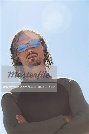 Portrait of Surfer, Cape Town, South Africa