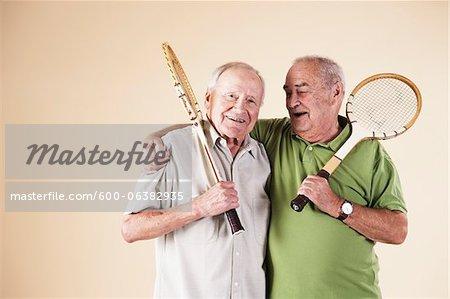 Portrait of Senior Men
