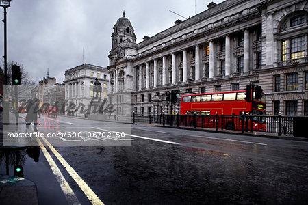 Bus Lane in London