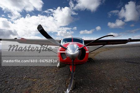 Crashed Airplane in Icelandic Highlands, Iceland
