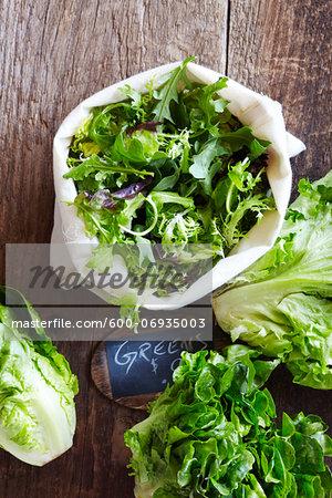Farmer's Market Greens for Sale, Toronto, Ontario, Canada