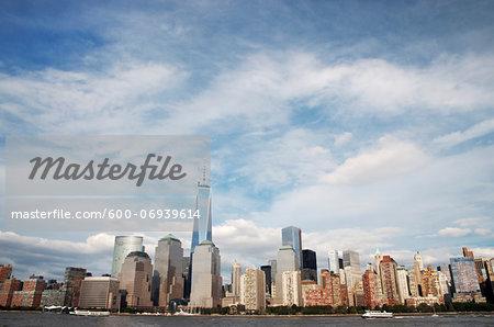 One World Trade Center in Skyline, New York City, New York, USA