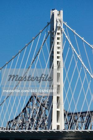 Eastern Span Replacement of Oakland Bay Bridge, San Francisco, Treasure Island, California, USA