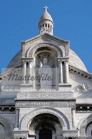 Basilique du Sacre Coeur, Montmartre, 18th Arrondissement, Paris, France