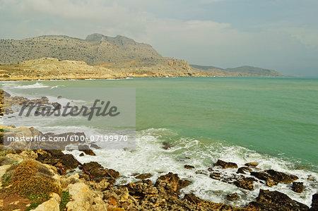 Arhangelos Bay, Rhodes, Dodecanese, Aegean Sea, Greece, Europe