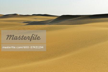 Scenic view of Sand Dune, Matruh, Great Sand Sea, Libyan Desert, Sahara Desert, Egypt, North Africa, Africa