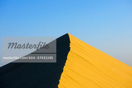 Top of Sand Dune, Matruh, Great Sand Sea, Libyan Desert, Sahara Desert, Egypt, North Africa, Africa