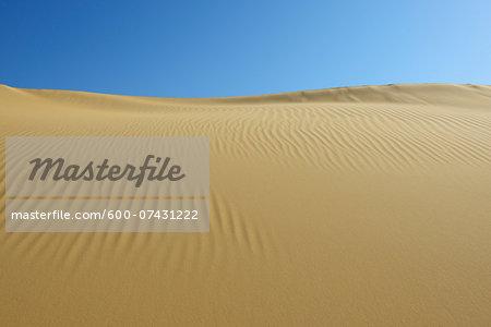 Overview of Sand Dune, Matruh, Great Sand Sea, Libyan Desert, Sahara Desert, Egypt, North Africa, Africa