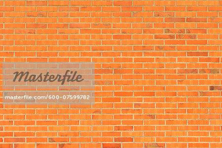 Close-up of Brick Wall, Speicherstadt, Hamburg, Germany