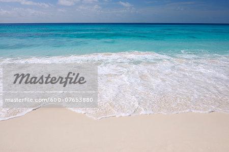 Indian Ocean, Grand Anse Beach, La Digue, Seychelles