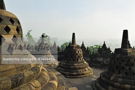 Borobodur, Kedu Plain, Java, Indonesia