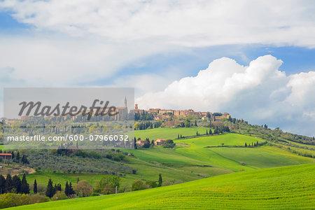 Pienza, Val d'Orcia, Siena, Tuscany, Italy