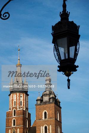 Church of the Holy Virgin Mary, Main Market Square, Krakow, Poland