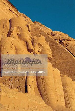 Egypt, Abou Simbel, temple of Ramses II
