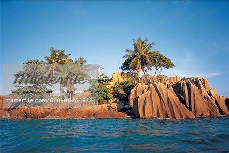 Seychelles, Saint Pierre, La Digue Island