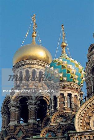 Russia, Saint Petersburg, Orthodox church of the Resurrection