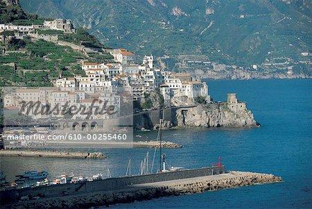 Italy, Campania, gulf of Salerno, Amalfi coast