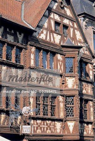 France, Alsace, Saverne, tavern