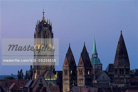 France, Alsace, Selestat, St Georges Church