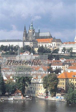 Czech Republic, Prague, St Guy cathedral
