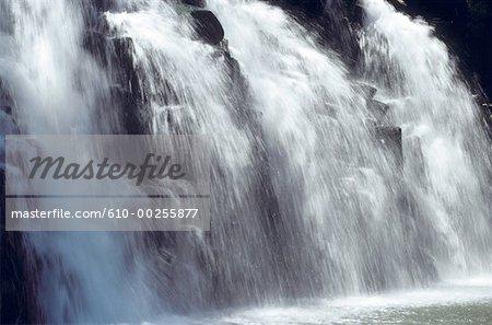 Mauritius Island, waterfall