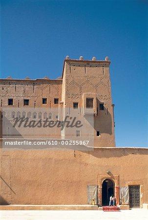 Morocco, Ouarzazate, home