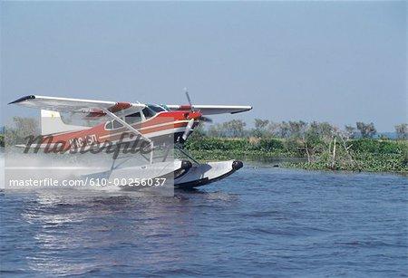 United States, Louisiana, Hydroplane on Mississipi River