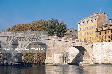 Italy, Rome, Sixtus Bridge