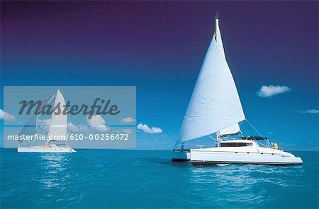 Virgin Islands, catamarans cruising
