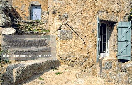 France, Corsica, Balagne, village of San Antonino