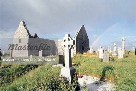 Ireland, Gort, Clare abbey