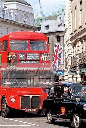 England, London, Double-decker