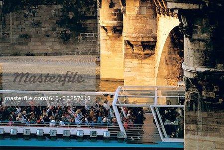 France, Paris, River-boat