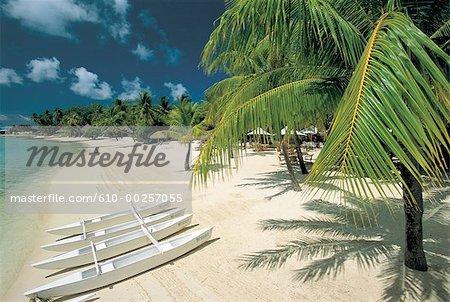 French Polynesia, Society Islands, Bora Bora island, beach