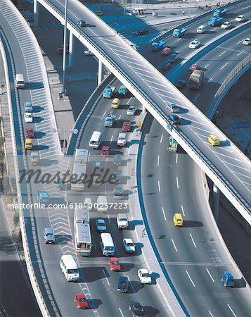 China, Beijing, Overpass