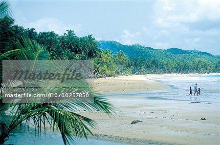 Dominican Republic, Las Terranas, the beaches