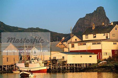 Norway, Nordland,Traena, Husoy